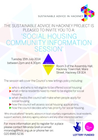 HCLC Social Housing Session