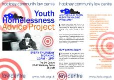 HLC Homelessness Leaflet