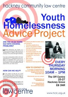 HLC Homelessness Poster