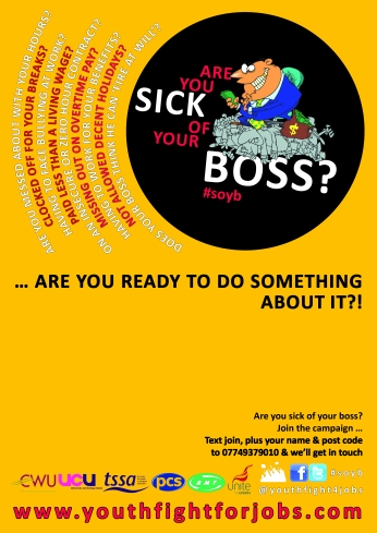 Sick of Your Boss Leaflet